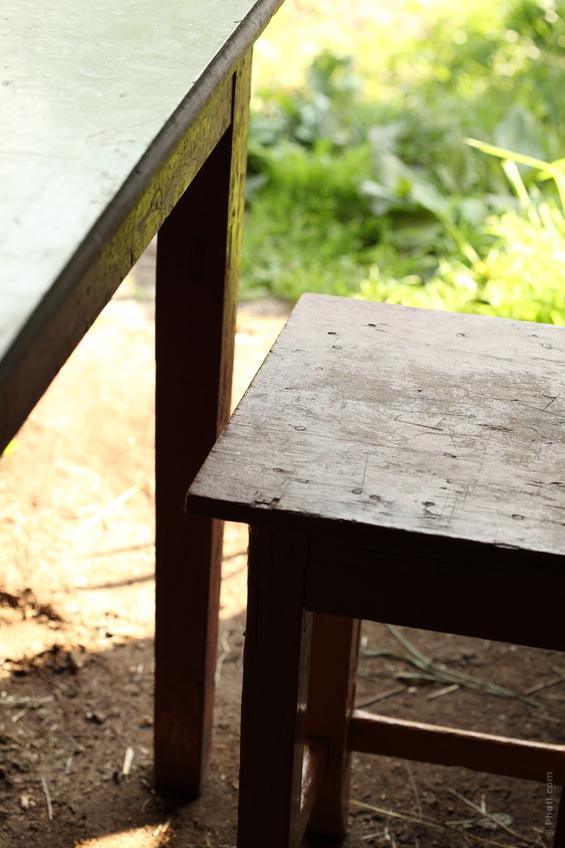 Декор садового участка 66